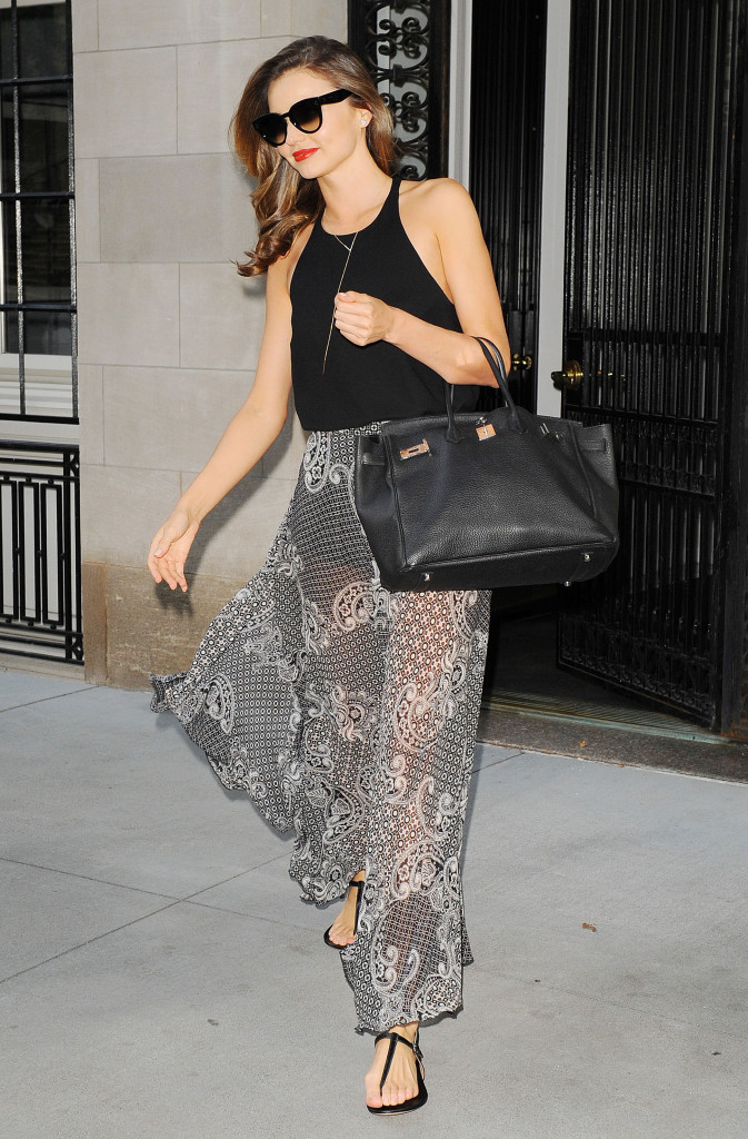 Miranda Kerr out and about, New York, America - 18 Jul 2014
