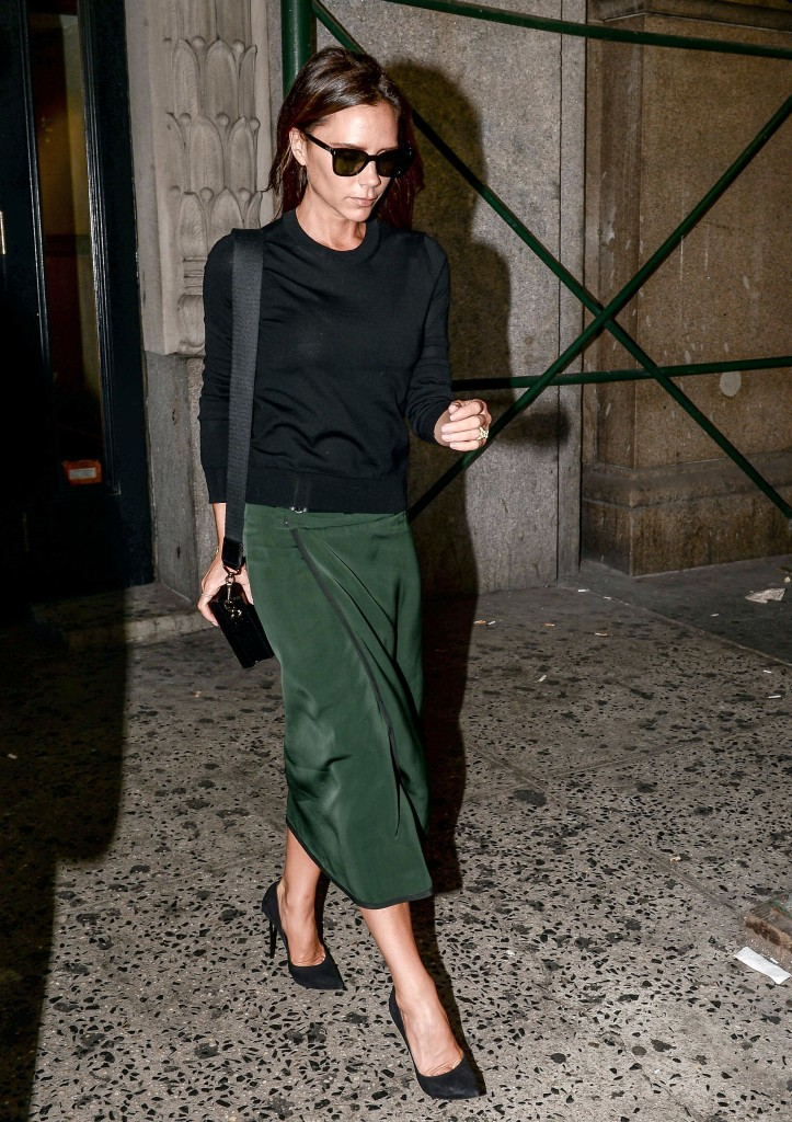 Victoria Beckham and David Beckham out and about, New York, America - 07 Sep 2014