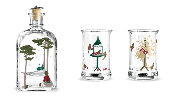 Holmegaard-flaske-og-glass