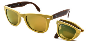 Ray Ban RB4105 Folding Wayfarer 6051 93
