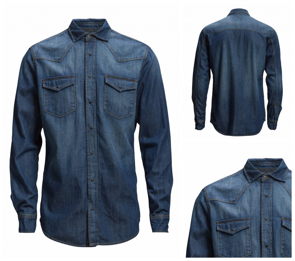 Denim Shirt Mango