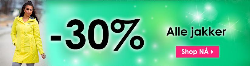 get inspired 30 prosent jakker