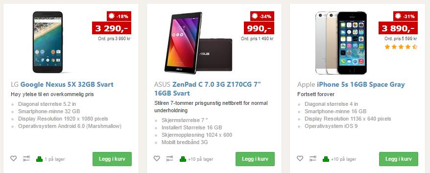 mobiler tilbud