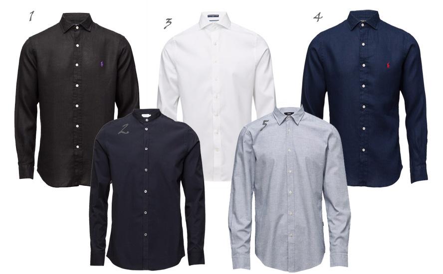 Skjorter-collage