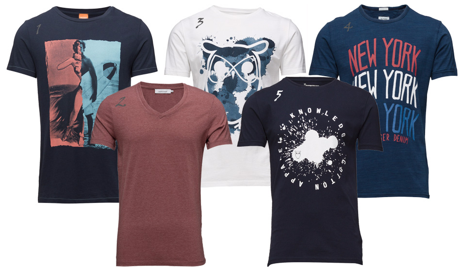 T-shirts-collage