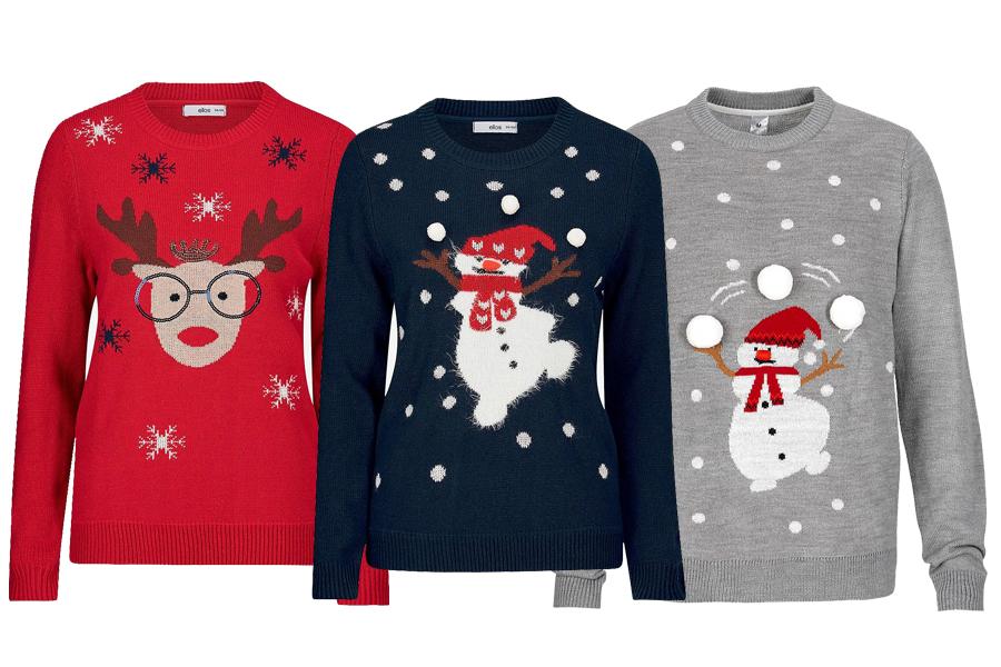 genser med julemotiv 2017