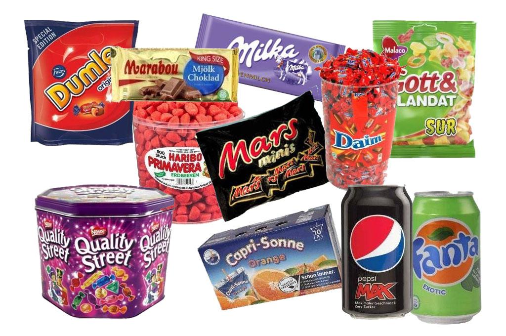 svenske godteri
